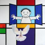 schilderij De Boodschap door Eline Vulsma